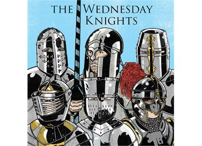 BTB001 Back To Beat Records  Wednesday Knights Wednesday Knights (10'')