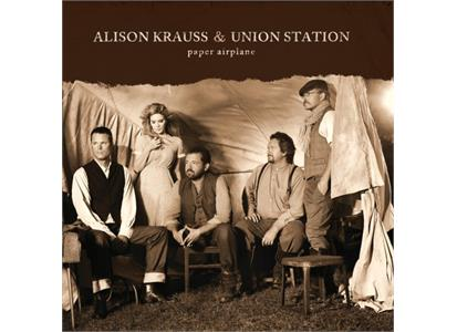 VXLDK6519 Rounder  Alison Krauss and Union Station Paper Airplane (LP)