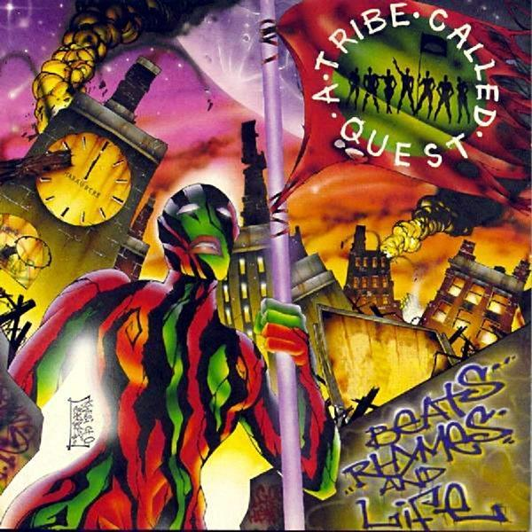 VXLDT5871 Jive  A Tribe Called Quest Beats, Rhymes, and Life (2LP)