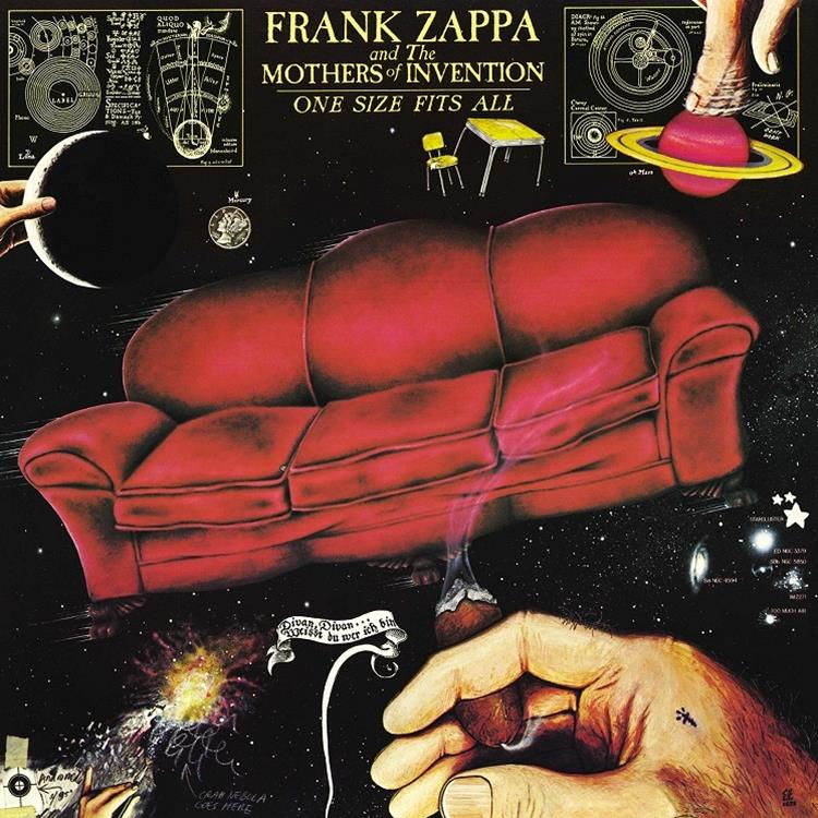 ZR38531 Zappa 238531 Frank Zappa One Size Fits All (LP)
