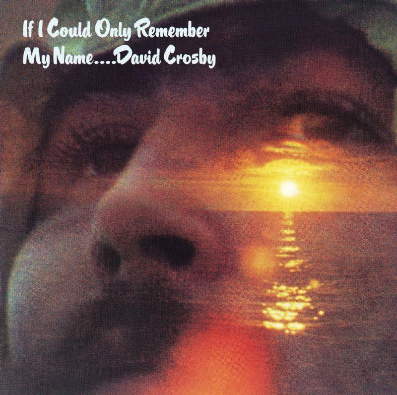 8122798666 Rhino  David Crosby If I Could Only Remember My Name (LP)