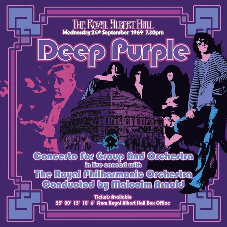 2564631171 Rhino  Deep Purple Concerto For Group and Orchestra (3LP)