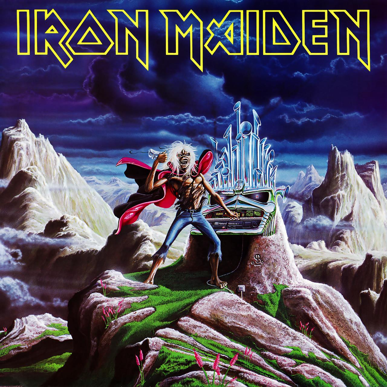 2564624863 Parlophone  Iron Maiden Run to the Hills - Live (7'')