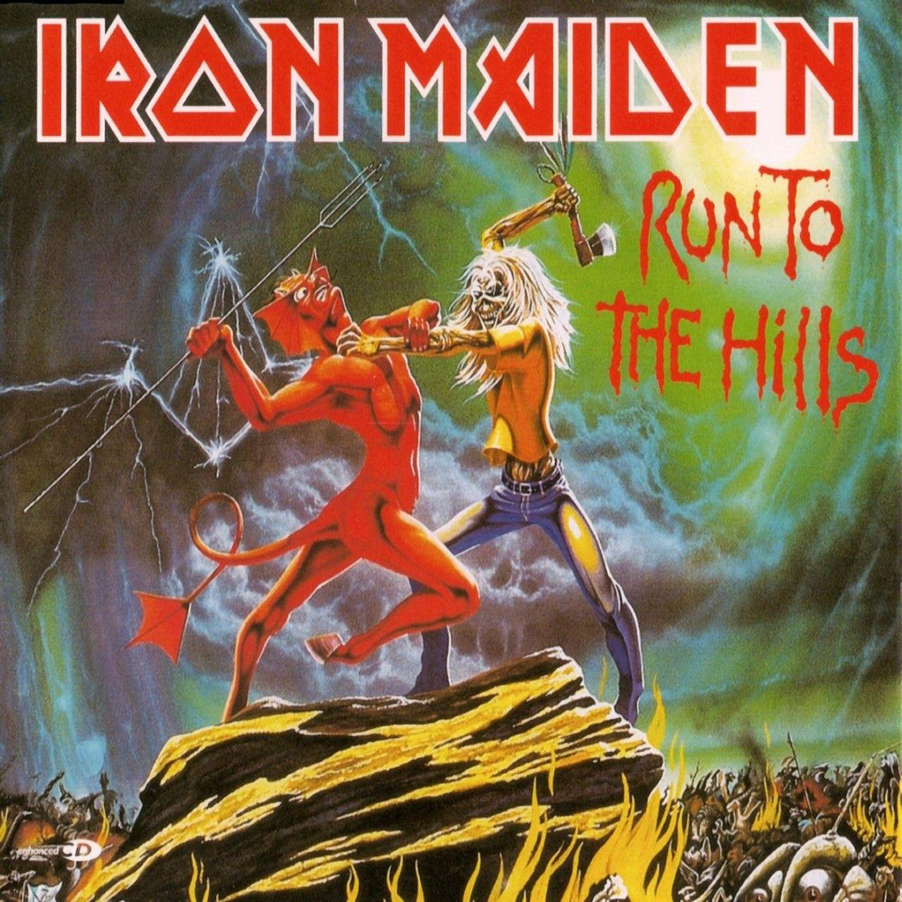 2564625170 Parlophone  Iron Maiden Run to the Hills (7'')