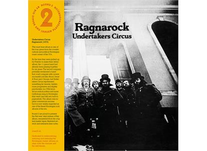 R2LP004 Round 2  Undertakers Circus Ragnarock (LP)