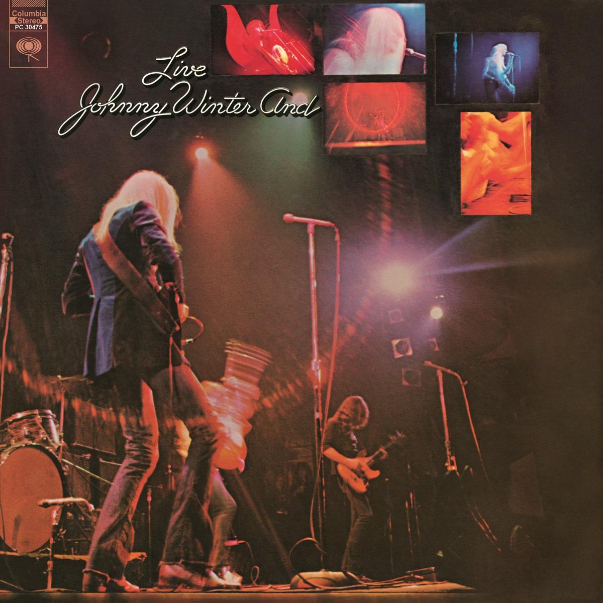 MOVLP1048 Music on Vinyl  Johnny Winter And Live (LP)