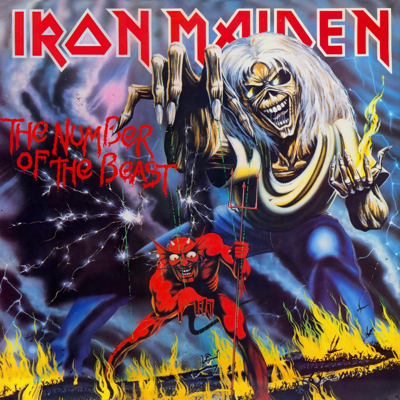 2564625240 Parlophone  Iron Maiden The Number of the Beast (LP)