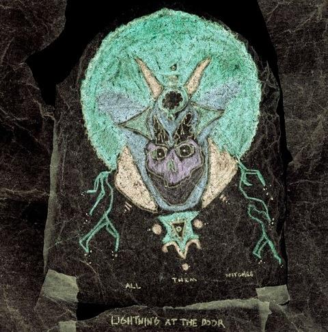 NW5116 New West  All Them Witches Lightning at the Door (LP+7'')