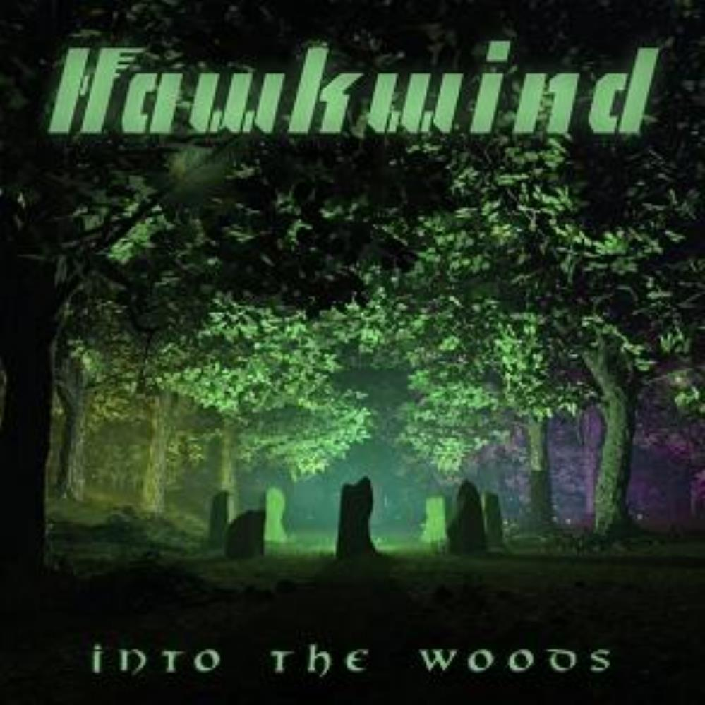 BREDD700 Cherry Red  Hawkwind Into the Woods (2LP)