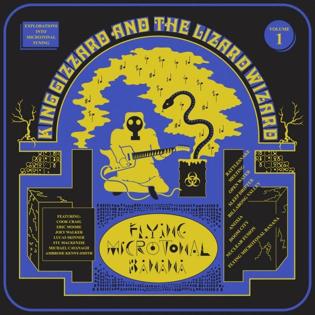 HVNLP136 Heavenly  King Gizzard & The Lizard Wizard Flying Microtonal Banana (LP)
