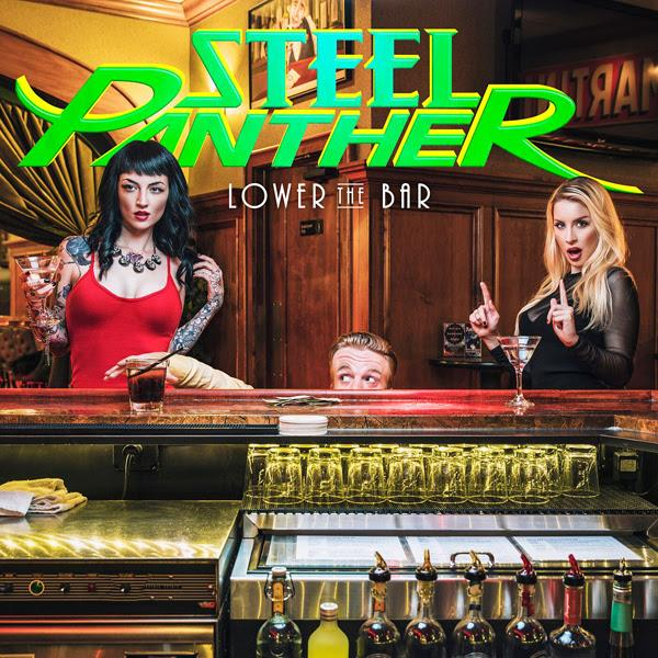 SP001VL   Steel Panther Lower the Bar (LP)