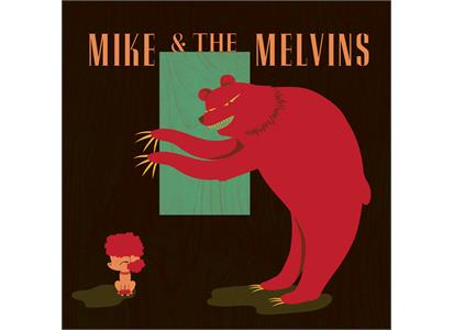 Mike And The Melvins Three Men And A Baby Lp Bigdipper