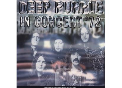 0190295961855 Parlophone UK Catalog  Deep Purple In Concert '72 (2LP+7'')