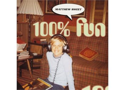 INVLP019 Intervention  Matthew Sweet 100% Fun - Expanded Edition (2LP)