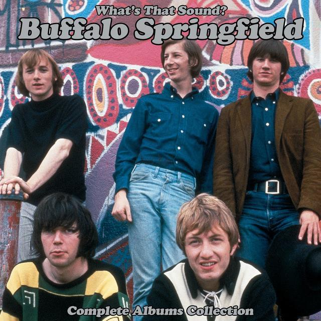 0603497860661 Rhino  Buffalo Springfield Whats That Sound? Complete Albums (5LP)