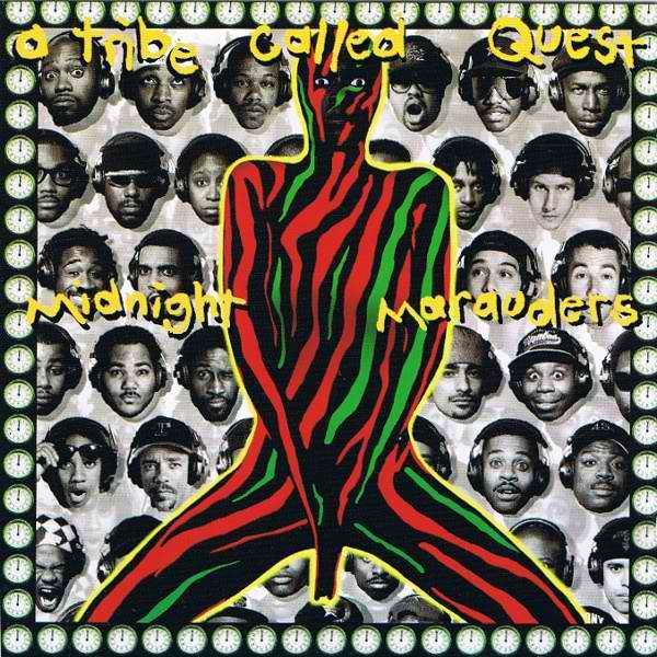 JIV41490 Jive  A Tribe Called Quest Midnight Marauders (LP)