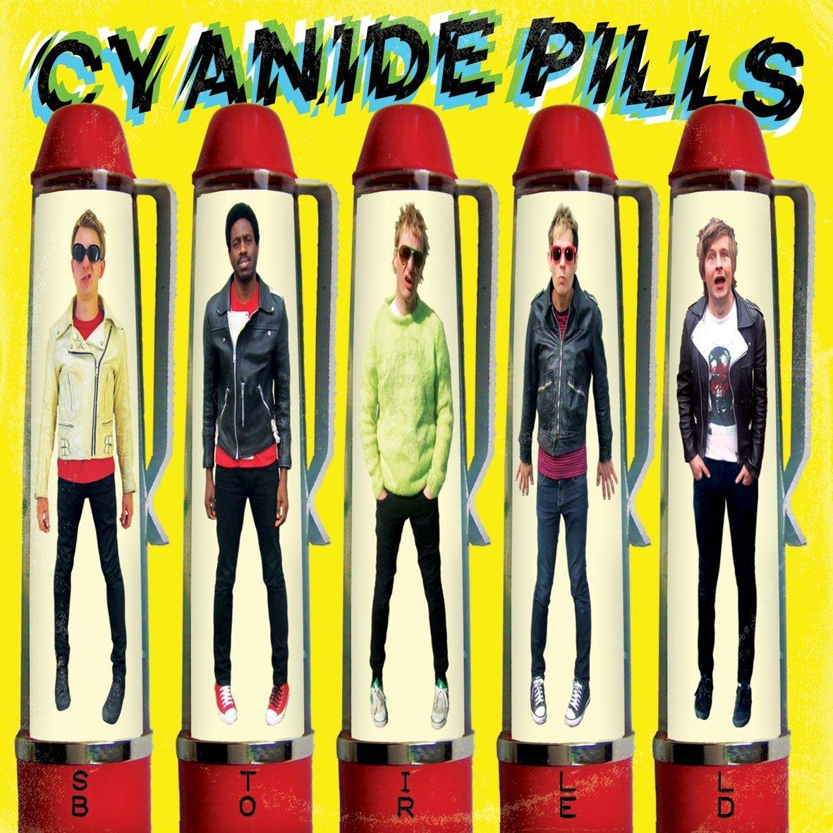DAMGOOD411 Damaged Goods  Cyanide Pills Still Bored (LP)