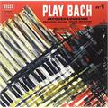 Jacques Loussier Trio Play Bach No. 1 (LP)