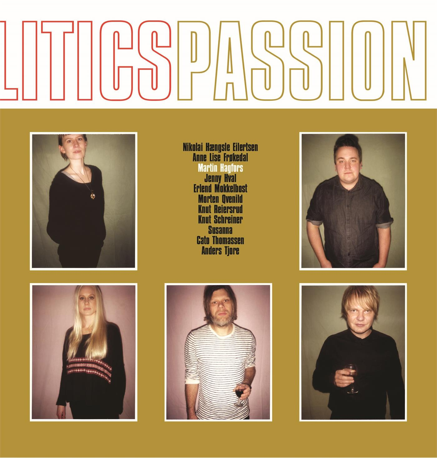 ME016LP ME  Martin Hagfors Producers Politics Passion (LP)