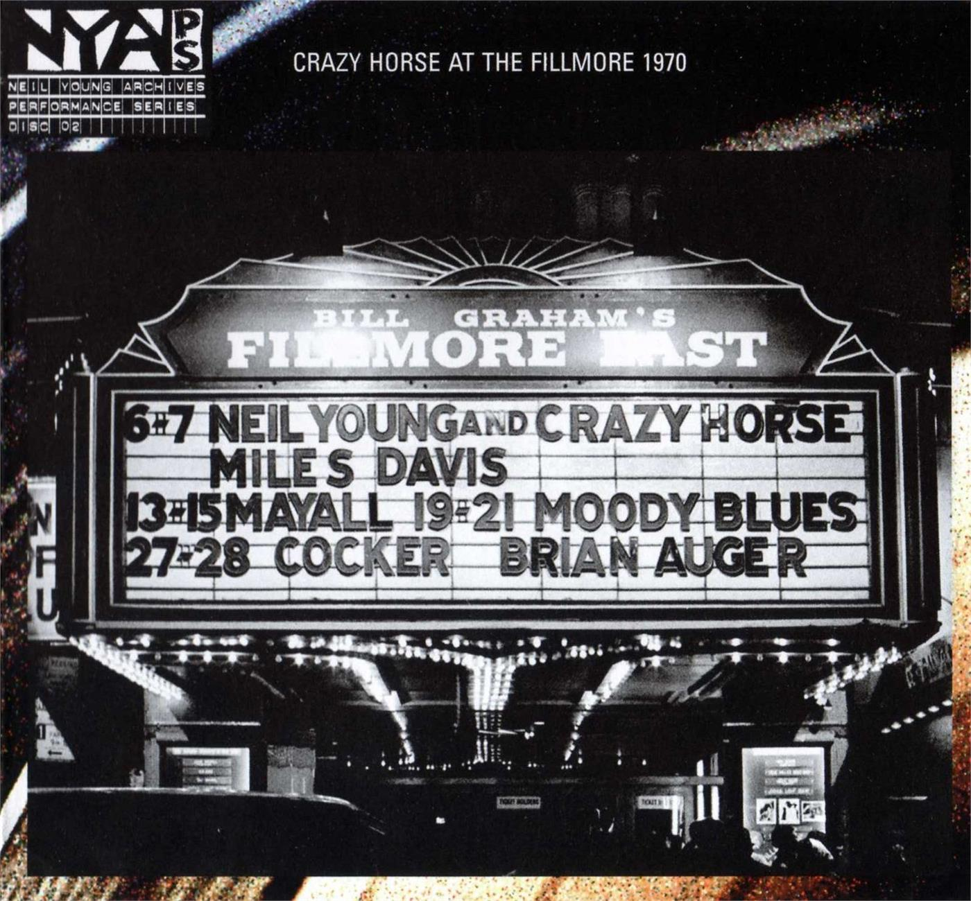 VXLDY8198 Reprise  Neil Young & Crazy Horse Live at Fillmore East (LP)