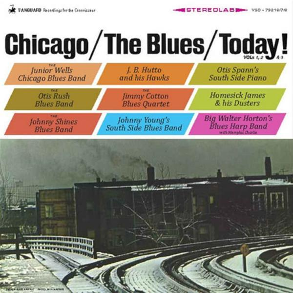 VSD79216/7/8 Pure Pleasure  Diverse artister Chicago the Blues Today (3LP Box)