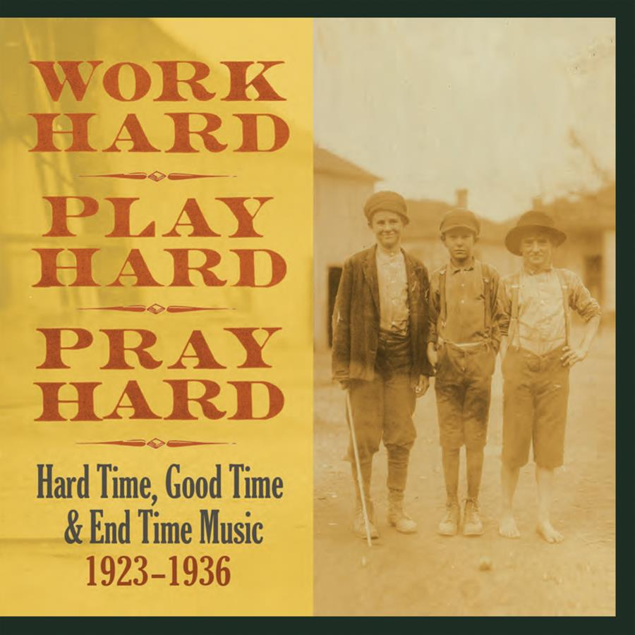 TPKS2783 Tompkins Square  Diverse artister Work Hard, Play Hard, Pray Hard (3LP)