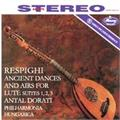 Respighi Ancient Airs and Dances For Lute (LP)