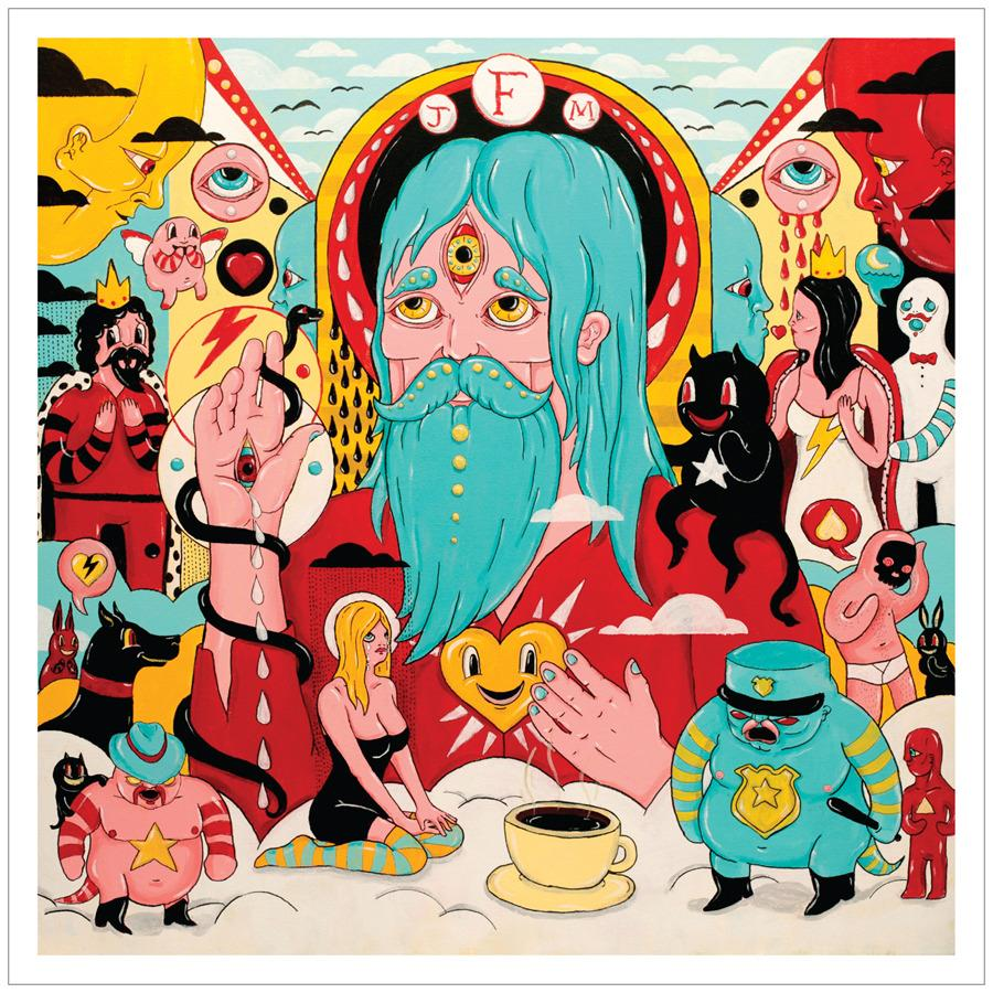 VXLDF7016 Sub Pop  Father John Misty Fear Fun (LP)