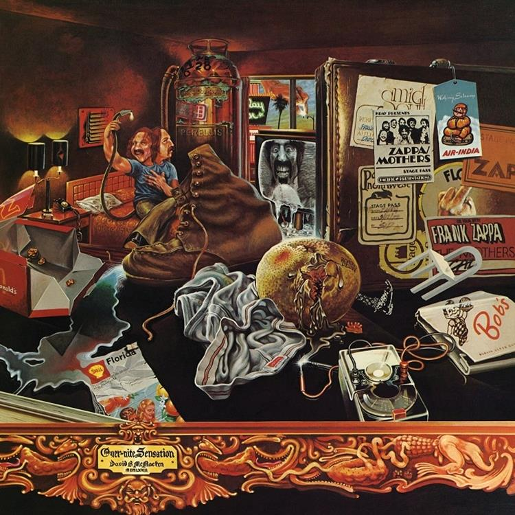 VXLDZ5012 Zappa  Frank Zappa Over-Nite Sensation (LP)