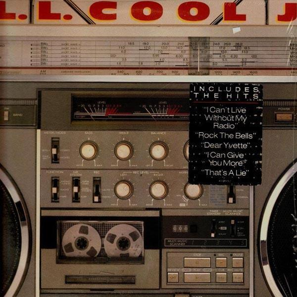 703580 Def Jam  LL Cool J Radio (LP)