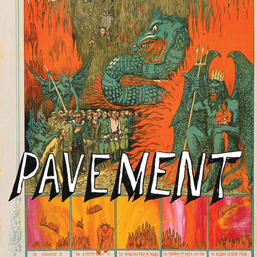 WIGLP250 Domino  Pavement Quarantine the Past: Best of (2LP)