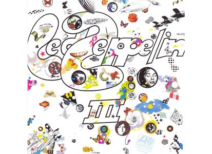 8122796576 Swan Song  Led Zeppelin Led Zeppelin III (LP)