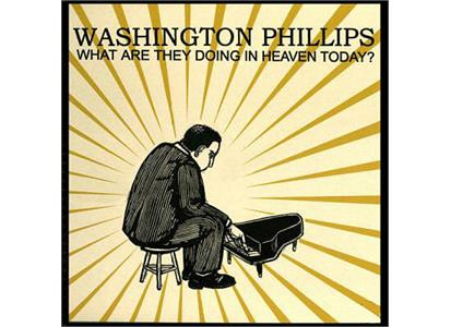 MIPP6 Mississippi  Washington Phillips What Are They Doing in Heaven Today (LP)