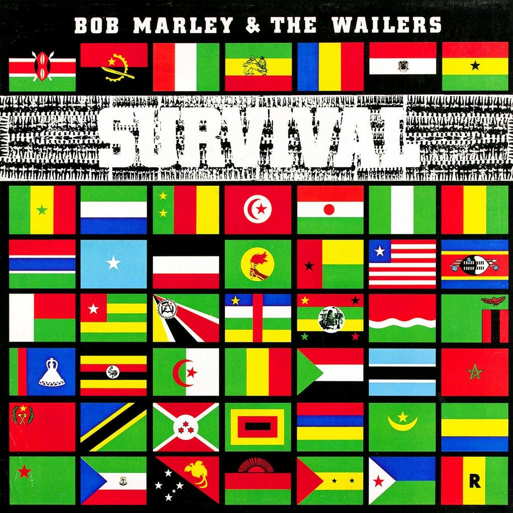 4727627 Universal  Bob Marley & The Wailers Survival (LP)