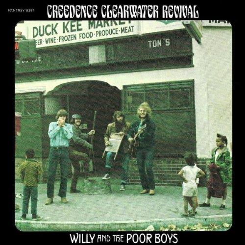 1883971 Concord  Creedence Clearwater Revival Willy and The Poor Boys (LP)