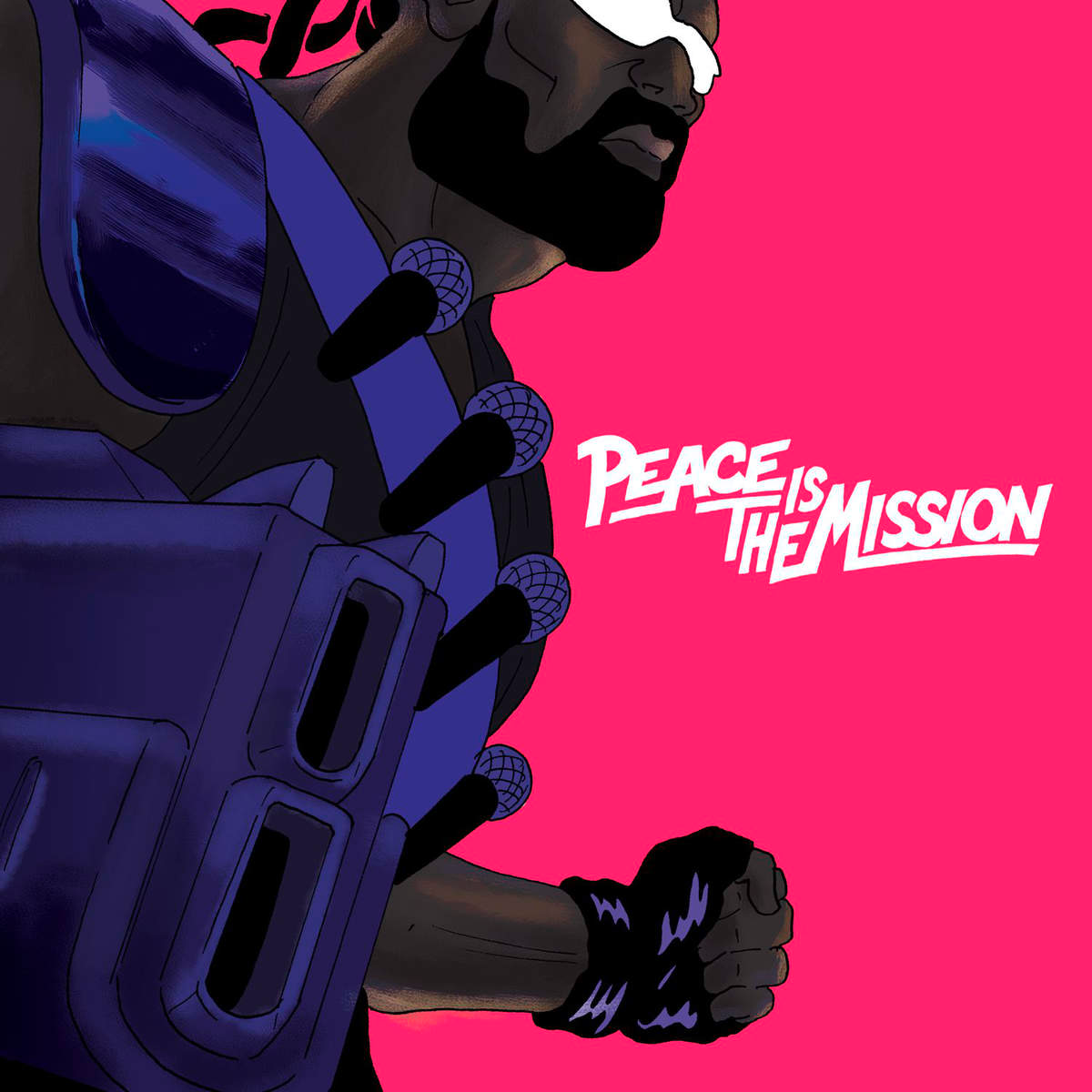 2564610114 Because  Major Lazer Peace Is The Mission (LP)