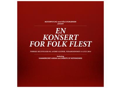 RLP2170 Rune Grammofon  Motorpsycho and Ståle Storløkken En Konsert for Folk Flest (2LP+DVD+CD)