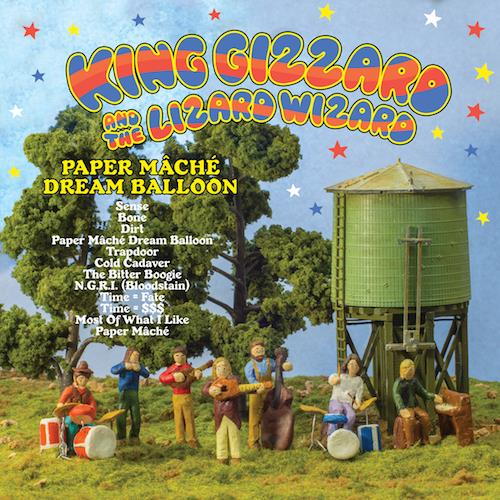 HVNLP124 Heavenly  King Gizzard & The Lizard Wizard Paper Mâché Dream Balloon (LP)