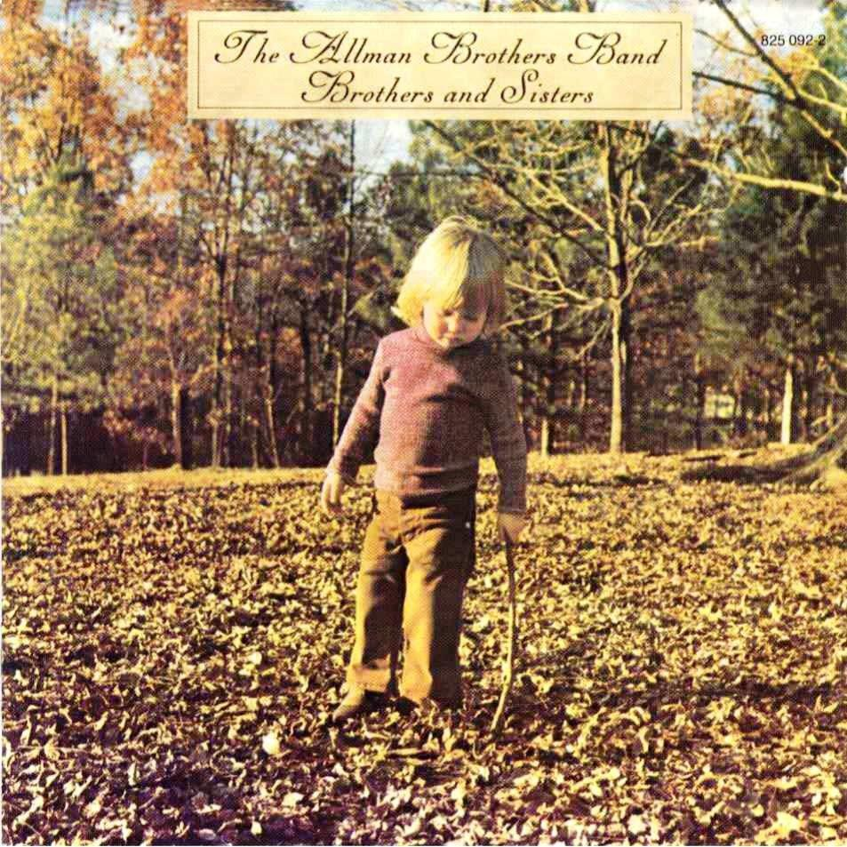 3728798 Mercury  Allman Brothers Band Brothers and Sisters (LP)