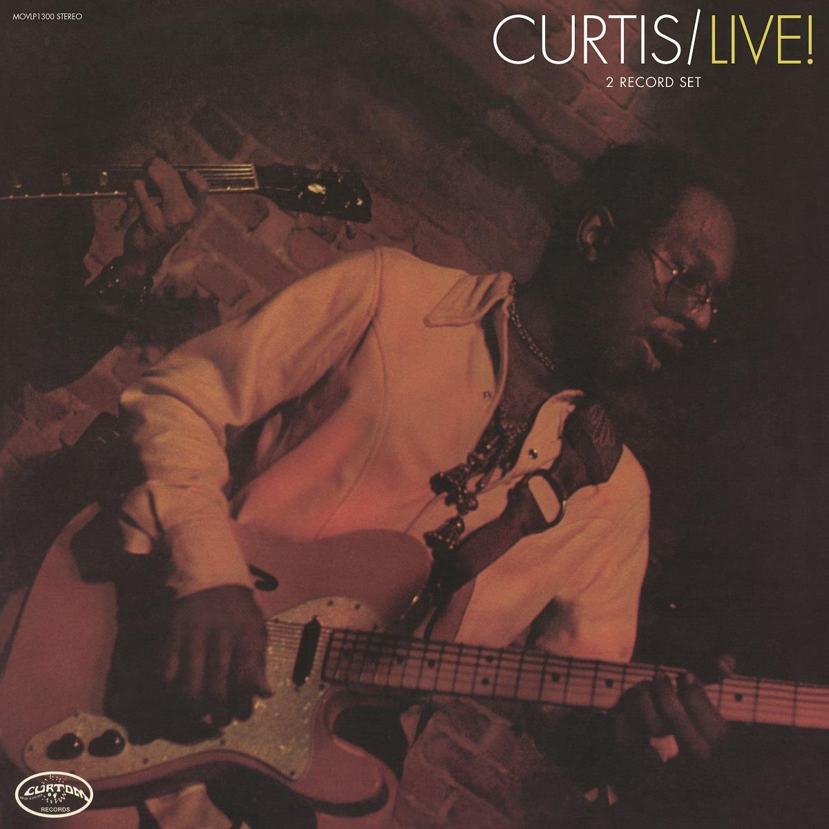MOVLP1300 Music on Vinyl  Curtis Mayfield Live! (Expanded) (2LP)