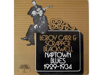 YAZ10136LP Yazoo  Leroy Carr & Scrapper Blackwell Naptown Blues 1929-1934 (LP)