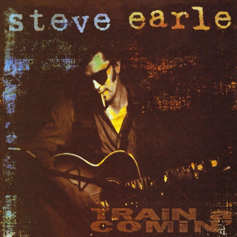 PLAI194 Plain  Steve Earle Train a Comin' (LP)