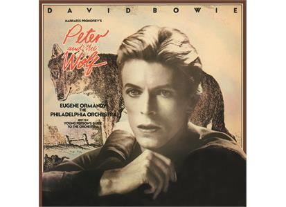 MOVCL011 Music on Vinyl Classical  David Bowie Peter and the Wolf (LP)