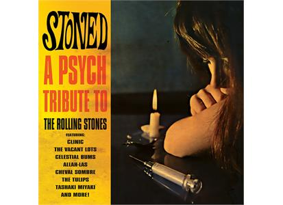 CLE2011 Cleopatra  Diverse artister / Rolling Stones Tribut Stoned: A Psych Tribute to RS (LP)