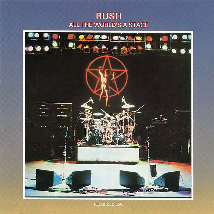 4711615 Universal  Rush All the World's a Stage (2LP)