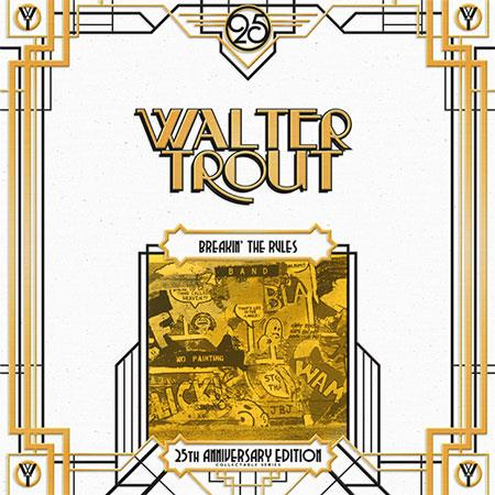 1987301085 Mascot/Provogue  Walter Trout Breakin' the Rules - 25th Ann (2LP)