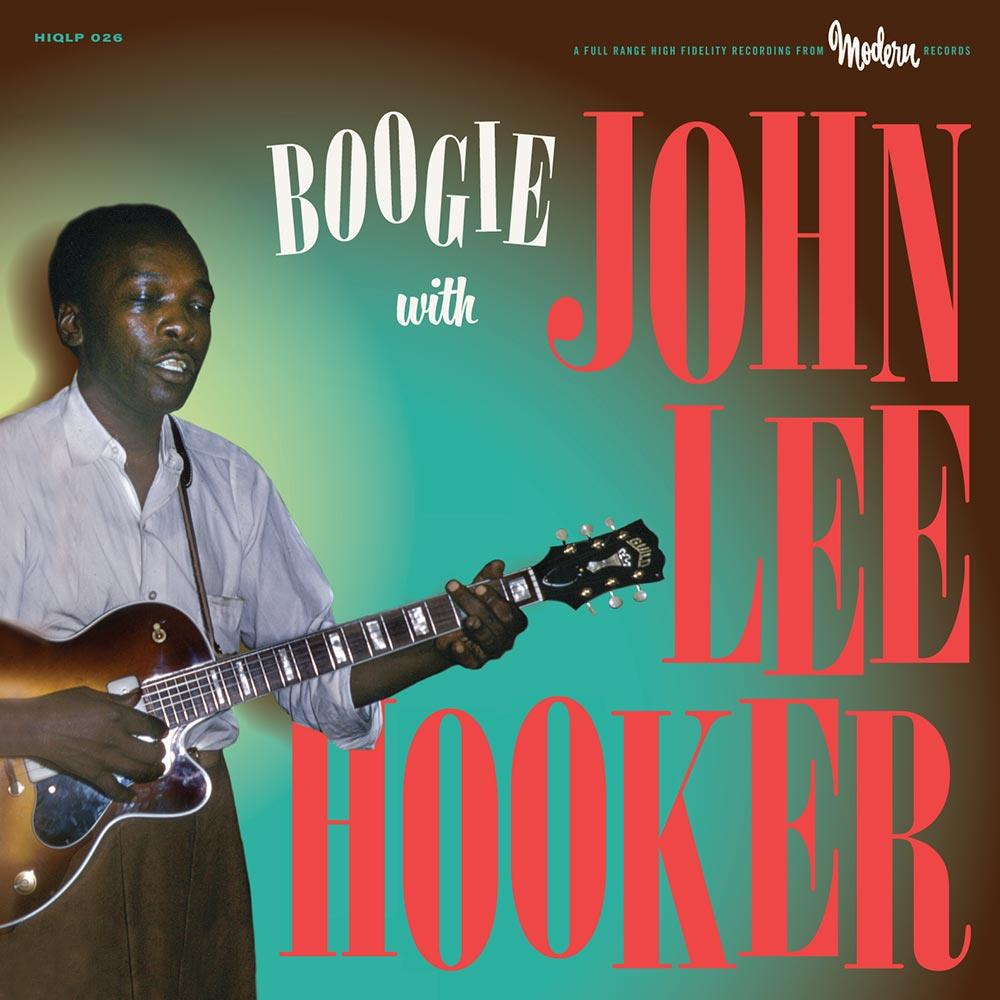 HIQLP026 Ace HIQLP26 John Lee Hooker Boogie With... (LP)