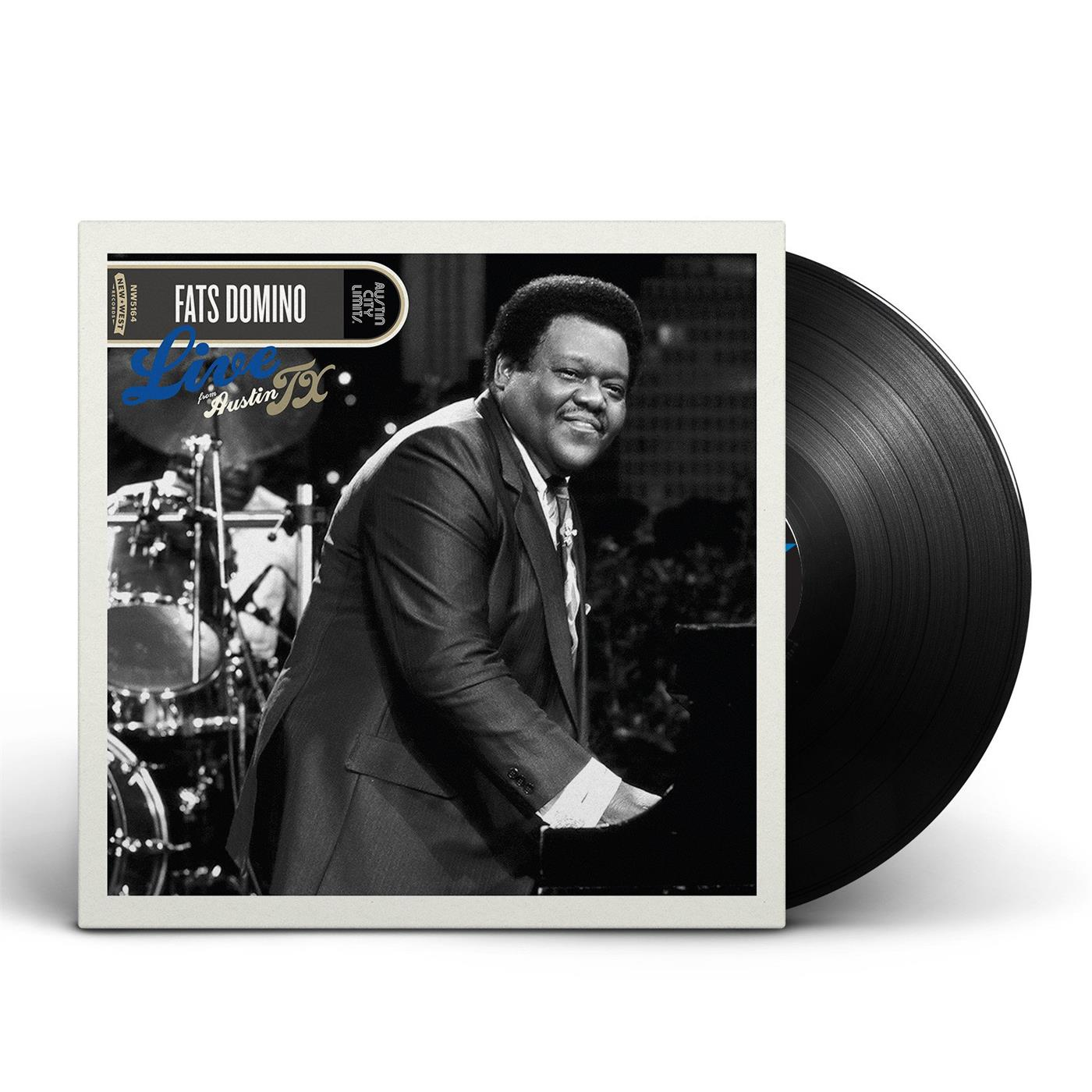 NW5190 New West  Fats Domino Live From Austin, TX (LP)