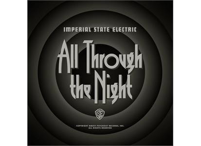 PSYCH026LP Psychout  Imperial State Electric All Through the Night (LP SVART)