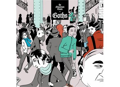 MRG579LP Merge  Mountain Goats Goths (2LP)